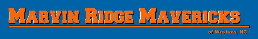 Marvin Ridge Mavericks Athletic Booster Club, All, Goal, Field