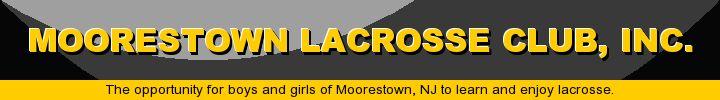 Moorestown Lacrosse Club, Inc., Lacrosse, Goal, Field