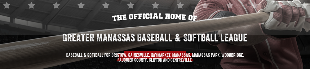 Greater Manassas Baseball League, Baseball / Softball, Run, Field