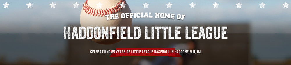 Haddonfield Little League, Baseball, Run, Field