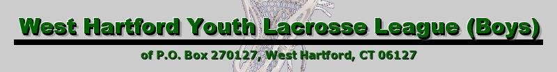 West Hartford Youth Lacrosse League, Lacrosse, Goal, Field