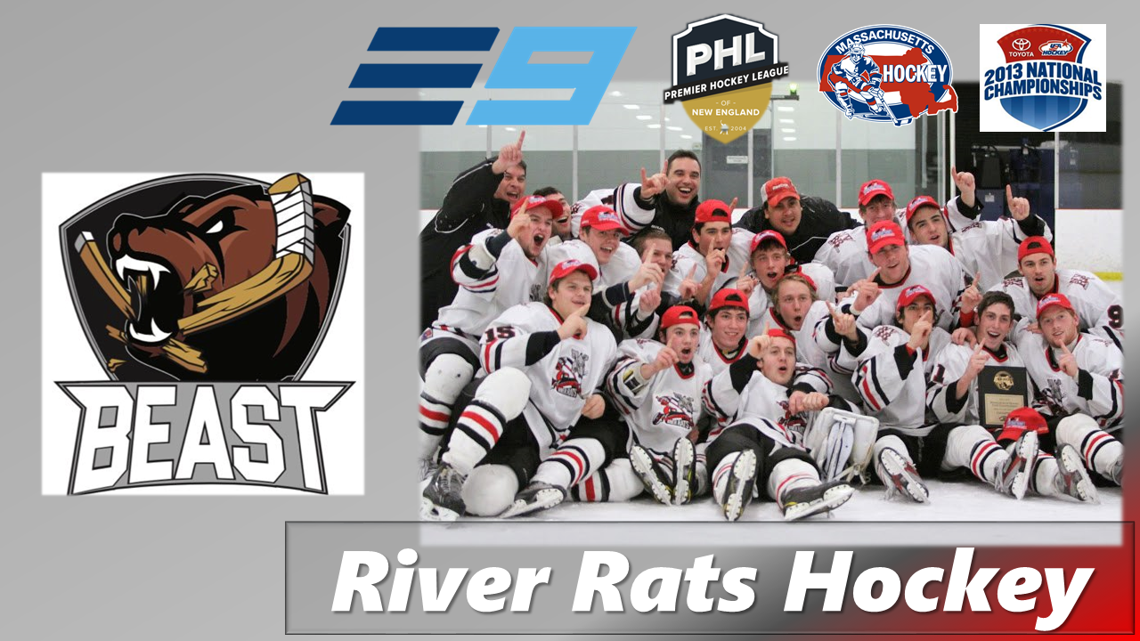NeponsetValleyRiverRats, Hockey, Goal, Rink