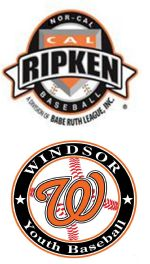 Windsor Cal Ripken Youth Baseball League, Baseball