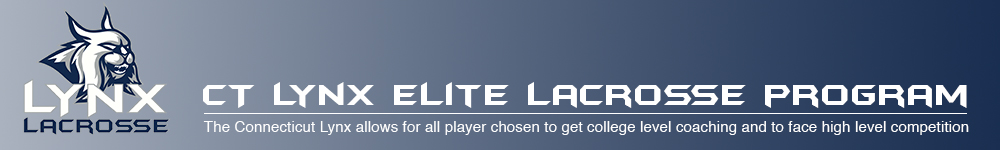 CT Lynx Elite Lacrosse Program, Lacrosse, Goal, Field