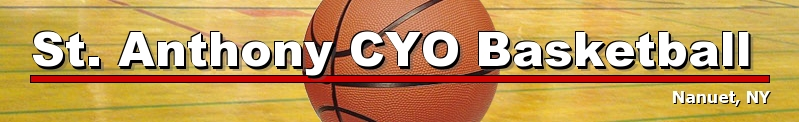 St. Anthony CYO Basketball, Basketball, Point, Court