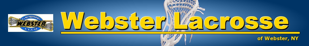 Webster Lacrosse Club, Inc., Lacrosse, Goal, Field