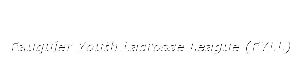 Fauquier Youth Lacrosse League, Lacrosse, Goal, Field