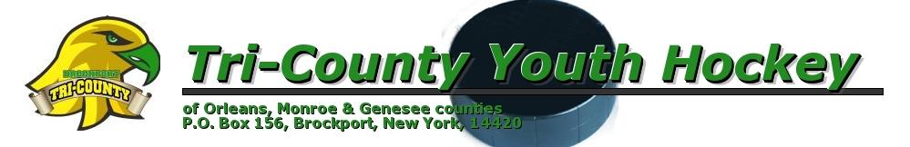 Tri-County Youth Hockey, Ice Hockey, Goal, SUNY Brockport Ice Arena