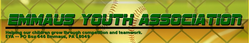 Emmaus Youth Association, Baseball, Run, Field