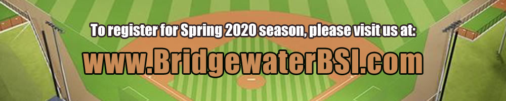 Bridgewater Baseball & Softball, Baseball & Softball, , Fields, Conditions, Directions