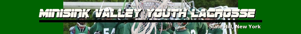 Minisink Valley Youth Lacrosse, Lacrosse, Goal, Field