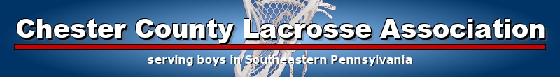 Chester County Lacrosse Association, Lacrosse, Goal, Field