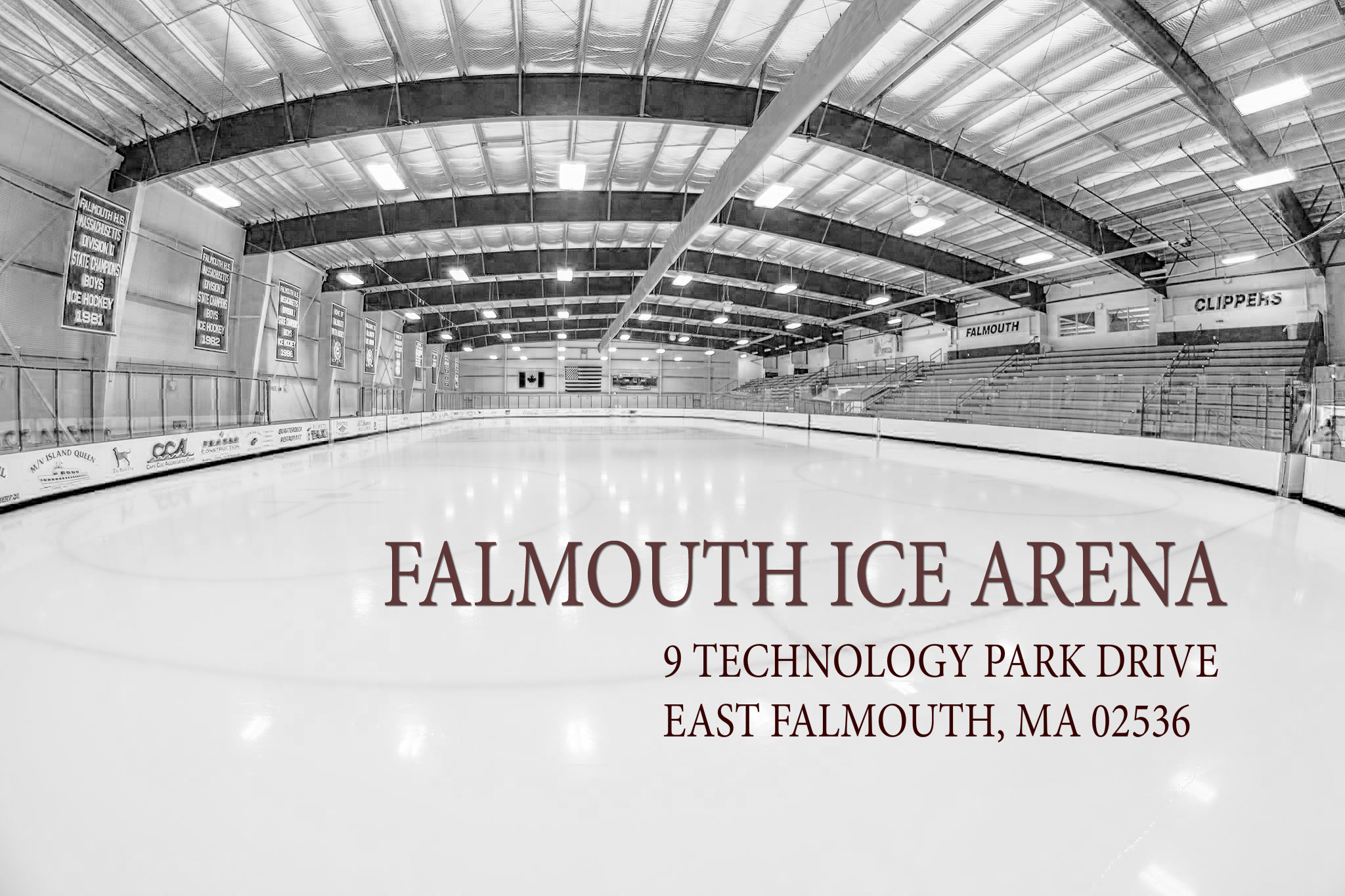 Falmouth Ice Arena, Hockey, Goal, Rink