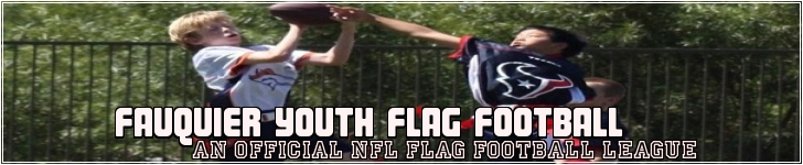 Fauquier Youth Flag Football League, Flag Football, Goal, Field
