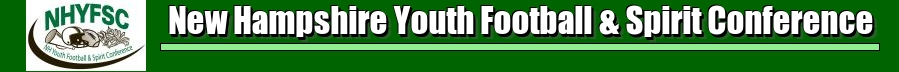 New Hampshire Youth Football & Spirit Conference, Football & Cheerleading, Goal, Field