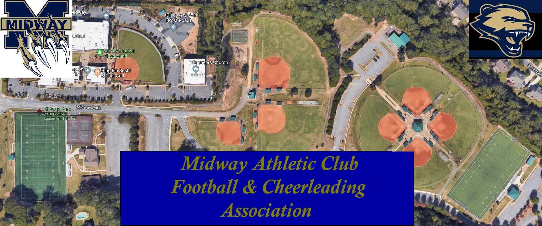 Midway Wolverines Football & Cheerleading Association, Football, Goal, Field