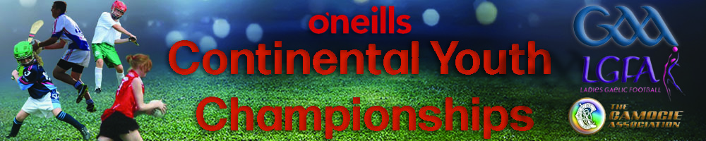 Continental Youth Championships, Gaelic games, Goal, Field