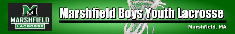 Marshfield Boys Youth Lacrosse, Lacrosse, Goal, Field