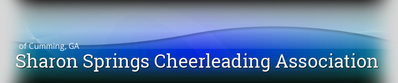 Sharon Springs Cheerleading Association, cheerleading, Goal, Field