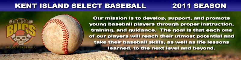 Kent Island Select Baseball