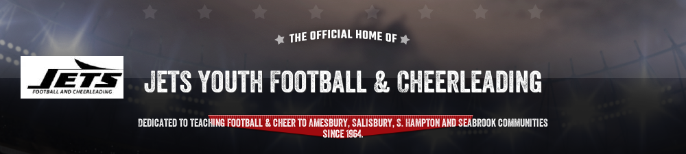 Amesbury Jets Youth Football and Cheerleading, Football & Cheering, Points, Fields