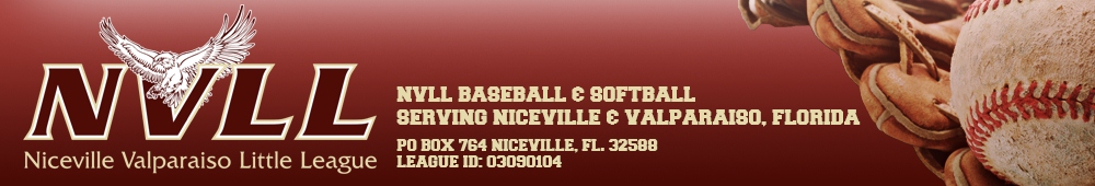 Niceville-Valparaiso Little League, Baseball and Softball, Run, Field