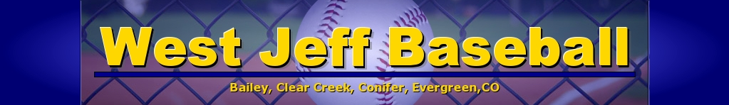 West Jeff Baseball Association, Baseball, Run, Field