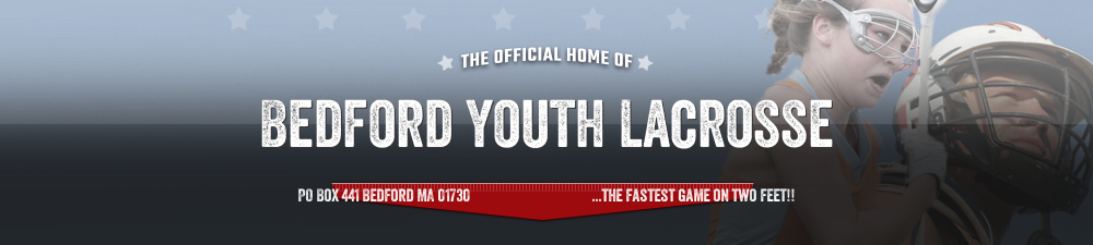 Bedford Youth Lacrosse, Lacrosse, Goal, Field