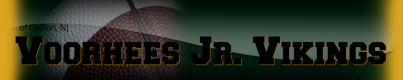 Voorhees Jr. Vikings, Football, Points, Field