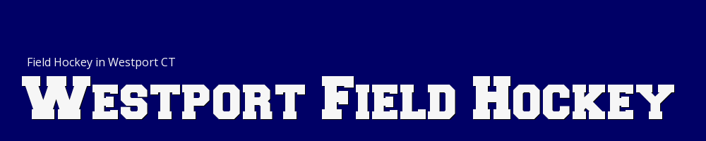 Westport Field Hockey Inc, Field Hockey, Goal, Field