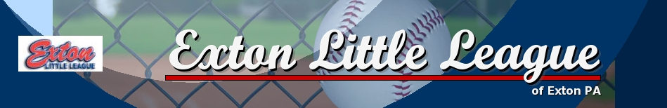 Exton Little League, Baseball, Run, Field