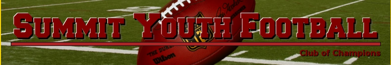 Summit Youth Football, Football, Points, Field