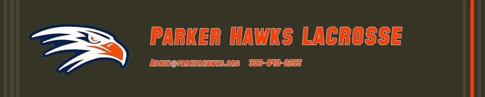 Parker Hawks Lacrosse, Lacrosse, Goal, Field