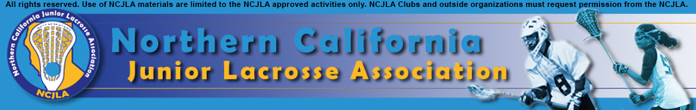Northern California Junior Lacrosse Association, Lacrosse, Goal, Field