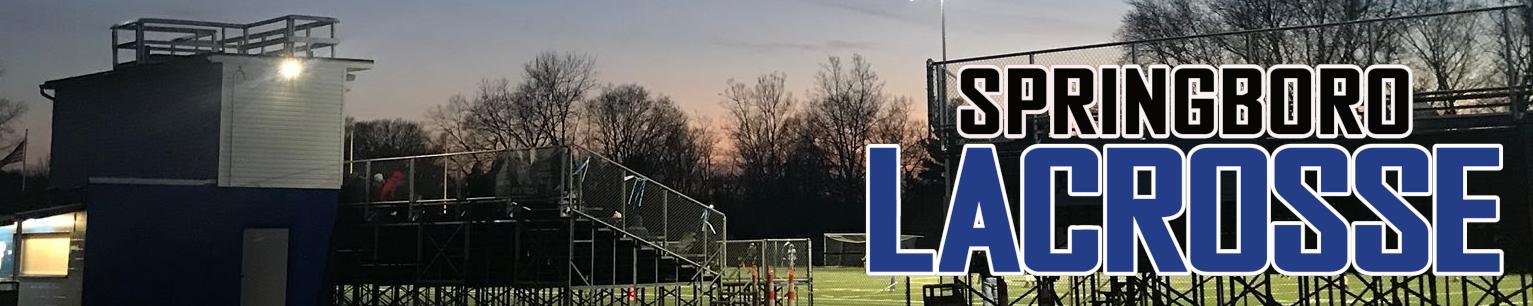 Springboro Lacrosse Club, Lacrosse, Goal, Field