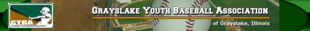 Grayslake Youth Baseball Association, Baseball, Run, Field