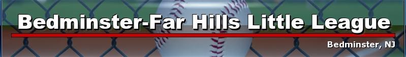 Bedminster Far Hills Little League, Baseball, Run, Field