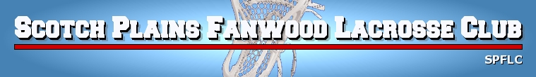 Scotch Plains Fanwood Lacrosse Club, Lacrosse, Goal, Field
