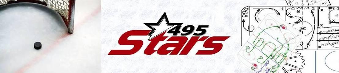 495 Stars, Hockey, Goal, Rink