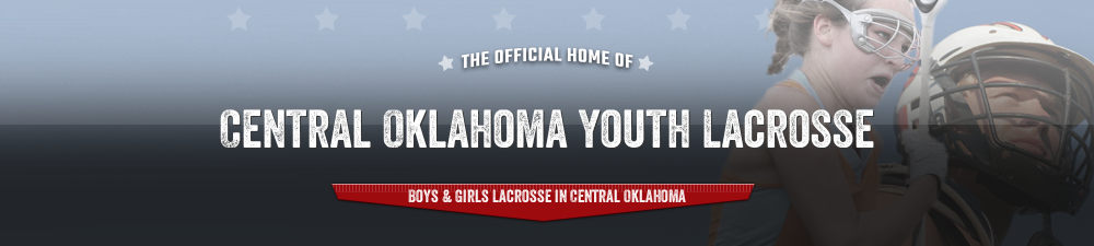 Central Oklahoma Youth Lacrosse, Inc., Lacrosse, Goal, Field