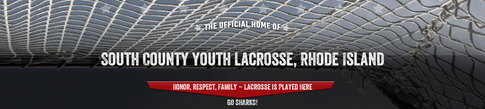 South County Youth Lacrosse, Lacrosse, Goal, Field