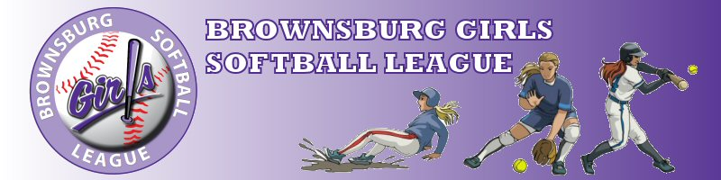 Brownsburg Girls Softball League, Softball, Run, Field