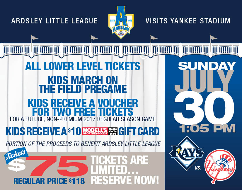 Ardsley Little League, Little League, Run, Field