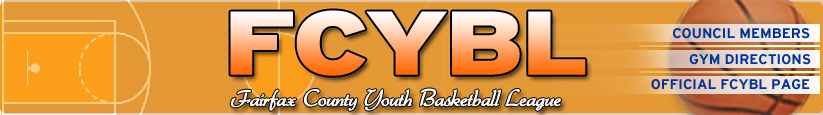Fairfax County Youth Basketball League, Basketball, Point, Court