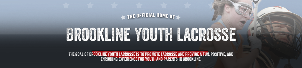 Brookline Youth Lacrosse, Lacrosse, Goal, Field