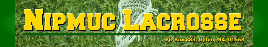 Nipmuc Youth Lacrosse Association, Lacrosse, Goal, Field