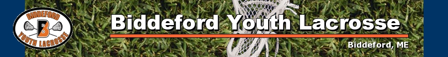 Biddeford Youth Lacrosse, Lacrosse, Goal, Field