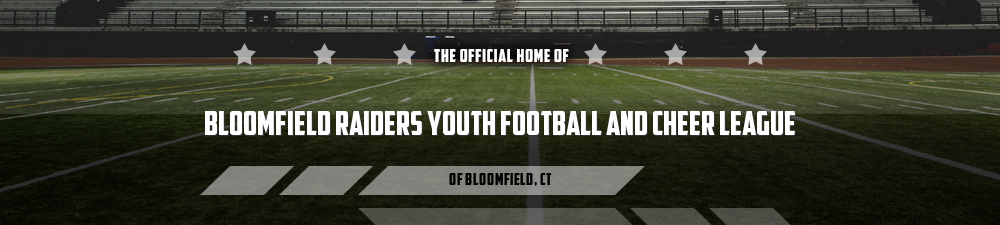 Bloomfield Raiders Youth Football and Cheer League, Football & Cheer, Points, Field