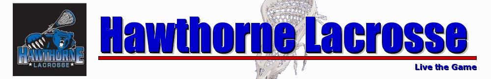 Hawthorne Lacrosse, Lacrosse, Goal, Field