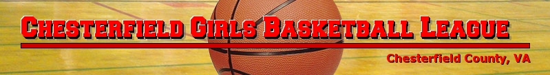 Chesterfield Girls Basketball League , Basketball, Point, Court